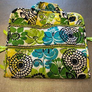 Vera Bradley Lime's Up Hanging Travel Cosmetic Bag